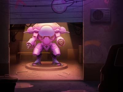 D.Va design tank fighter shooter game overwatch diva character illustration game design artua