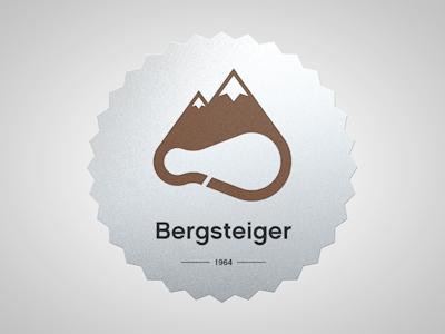 Bergsteiger logo alpinism rock berg artua