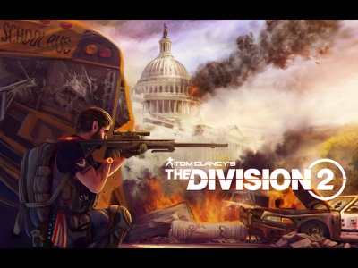 Division 2 fun art car character design human game game art game design design weapon gun soldier character fun art division illustration artua