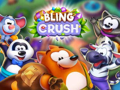 Bling Crush splash screen