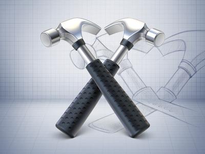 Hammer Icon artua icon application icon mac mac icon hammer