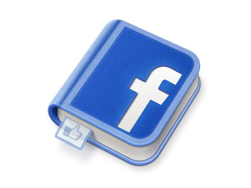 Facebook icon artua icon illustration facebook social network