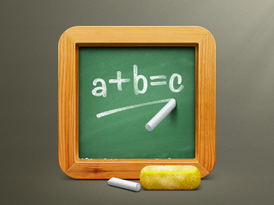 School board icon artua icon illustration school school board board chalk