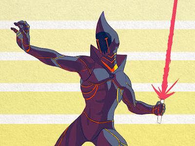 Darth Fractor concept art star wars jedi sith design illustration