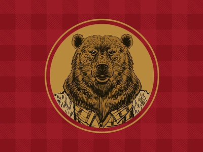 Bear Flanimal Icon icon bear illustration