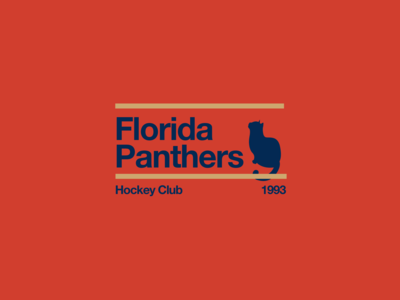 Swiss style NHL signs: Florida Panthers