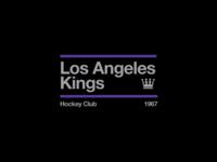 Swiss style NHL signs: Los Angeles Kings