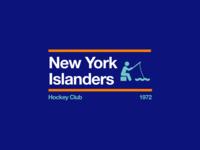 Swiss style NHL signs: New York Islanders