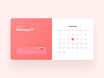 Calendar schedule meeting time dates days calendar concept flat ux minimalism ui