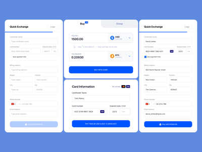 Liquid Form Design payment wallet sell buy trade crypto platform product web app ui ux minimalism