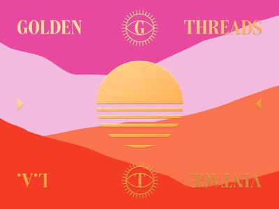 Golden Threads Business Card