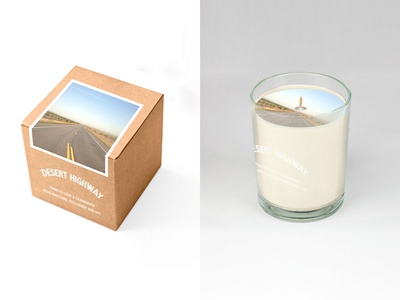 Desert Highway Candle Concept