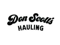 Don Scott's Hauling