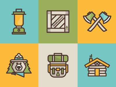 Webwoodsmen Icons