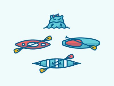 paddle icons