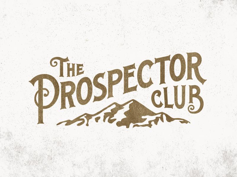 prospector prospector gold mountains logo