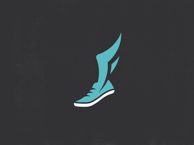 f wing track shoe by ryan weaver dribbble rh dribbble com shoe with wing logo brand yellow shoe with wing logo