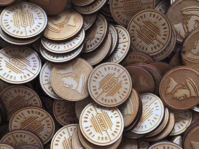 free drink tokens drink free wooden nickel coffee medici
