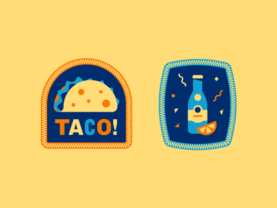 Patches 1 lime topo chico patch badge taco