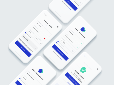 Daily UI 001/002 • Sign Up/Credit Card Checkout checkout credit card daily ui 002 signup daily ui 001 payment payment form sign in sign up mobile design mobile ui mobile ui design