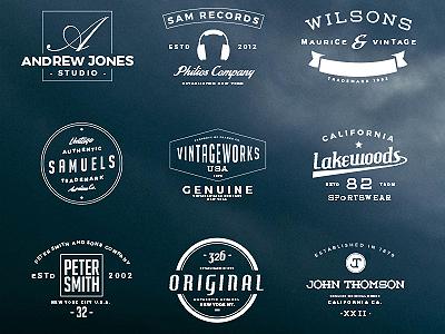 16 Free Vintage Logos