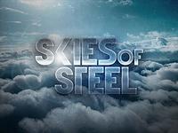 Skies of Steel Text Effect