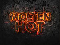 Molten Hot 3D Text Effect