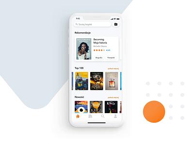 Lubimyczytac App - Book Detail ui detail recommendation ios mobile app mobile book