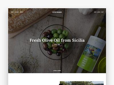 Vitomiano Olive Oil Nocellara Sicily Ecommerce photography olive oil ecommerce
