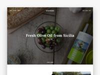 Vitomiano Olive Oil Nocellara Sicily Ecommerce
