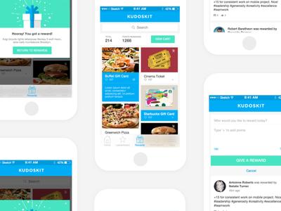 KudosKit App Design