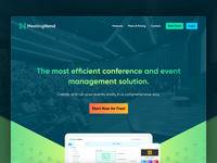 MeetingHand Landing Page