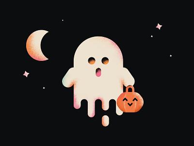 Cute BOO! halloween design halloween party illustration art boo! ghost 2020 halloween illustrator illustration