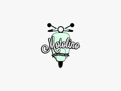 Motolino Logo 4 mark typography type logotype icon logo