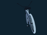Bike Illustration 3 Color