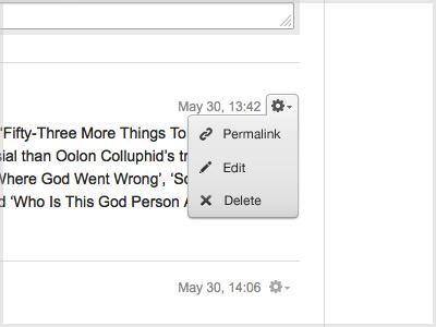 contextual menu 2 icons 42 edit permalink delete gear oolon colluphid