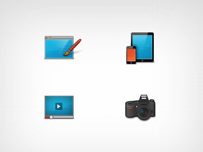 Think Webdesign Icons icons webdesign digitldesign video photo