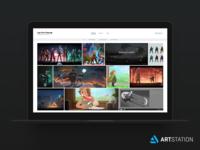 Artstation PRO – Mosaic Theme