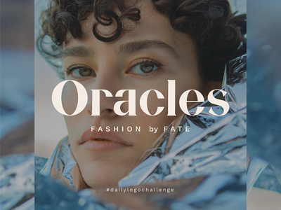 Daily Logo Challenge - Oracles Fashion brand blue logo logo challenge daily logo challenge dailylogochallenge chic logo clean logo typography logo typography chic fashion branding fashion brand fashion fashion logos fashion logo