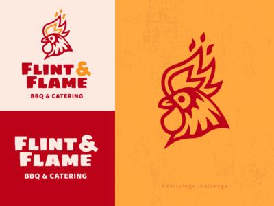 Daily Logo Challenge - Flint & Flame