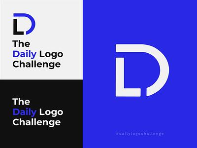 """Daily Logo Challenge - """"Daily Logo Challenge"""" vector branding dlc d letter blue logo blue and white black blue daily logo design daily logo challenge daily logo dailylogochallenge"""