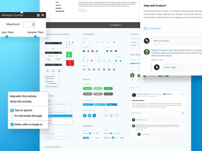 Daily UI #11 - Core Interact Style Guide