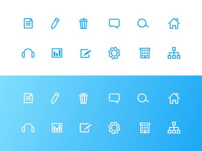Core Interact Icons