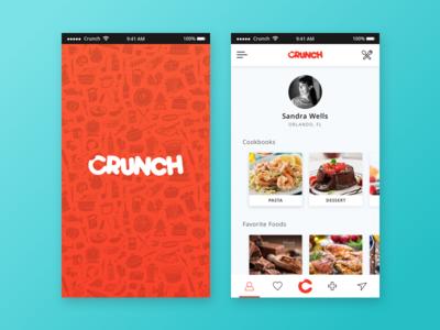 Daily UI #14 - Crunch App