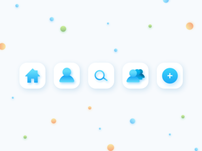 Core Interact Mobile Icons
