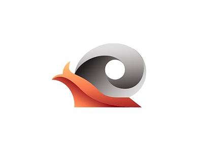 Snail Logo illustrtion logo inspiration gradient snail logo