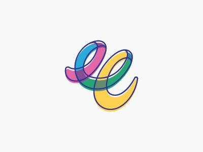 Abstract E Logo