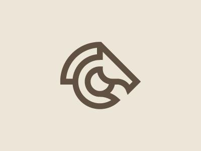 Horse Logo logo inspiration simple logo horse logo