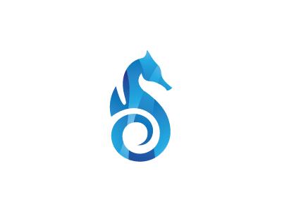Sea Horse Logo seahorse printing print media logo horse flame fire data consulting