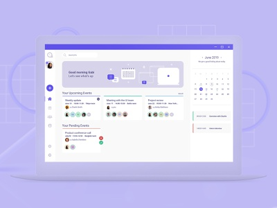 Scheduling web-app Dashboard dashboard ui dashboard app ui design calendar